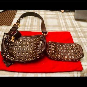 PRADA handbag with matching coin purse
